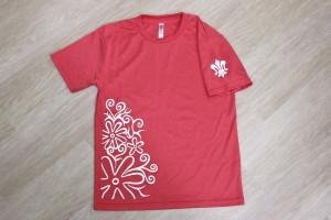 白百合Tシャツ(ピンク)1